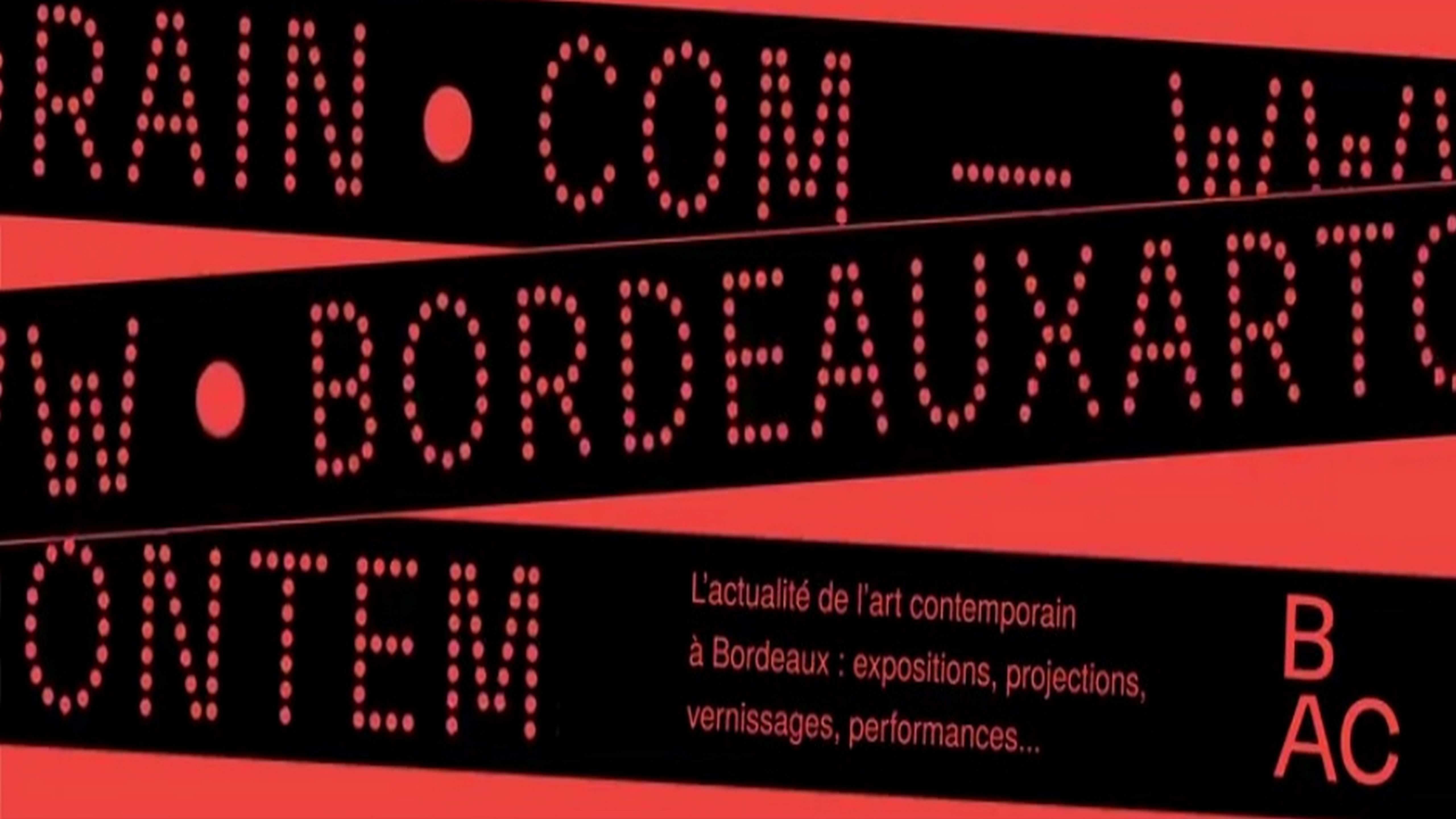 Bordeaux Art Contemporain .com